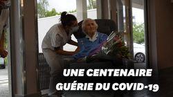 Guérie du coronavirus, cette centenaire belge sort de l'hôpital sous les