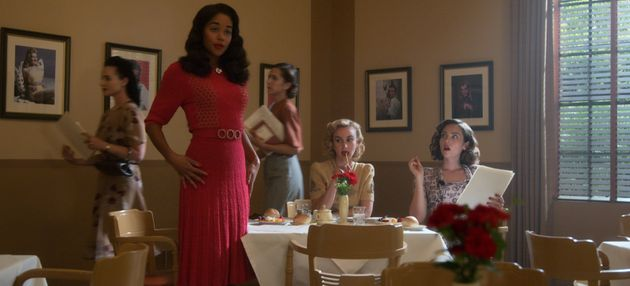 Laura Harrier stars as aspiring actress Camille