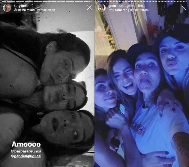 A própria Pugliesi publicou fotos da festa no seu instagram e depois apagou.