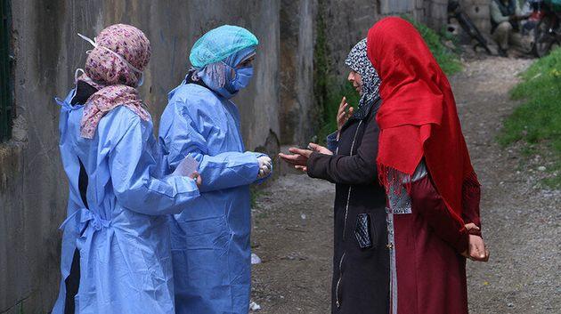 Trabalhadores comunitários na Síria estão preocupados com a vulnerabilidade de mulheres...
