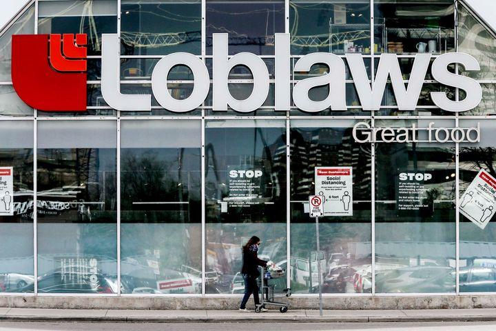 A Loblaws store in Etobicoke.
