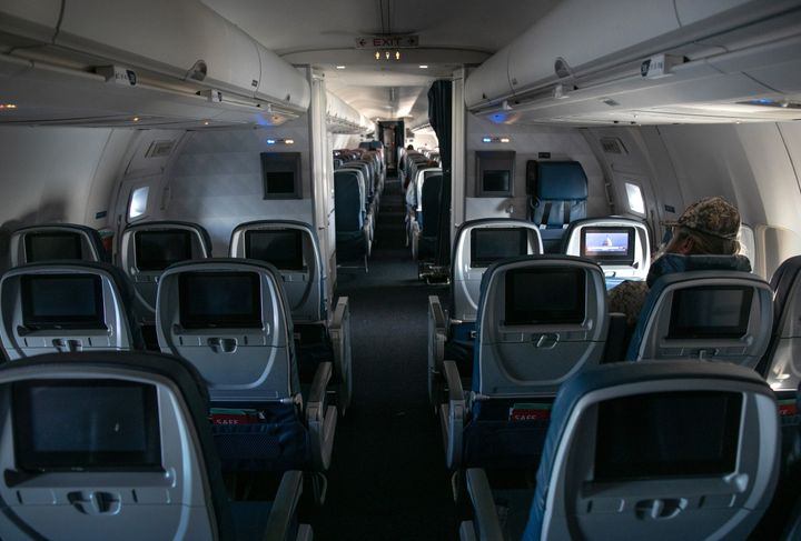 Airplanes will likely keep passengers more spaced out as demand remains low.
