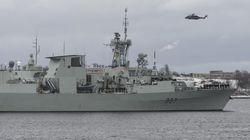 Un hélicoptère de la Marine canadienne est porté disparu en mer