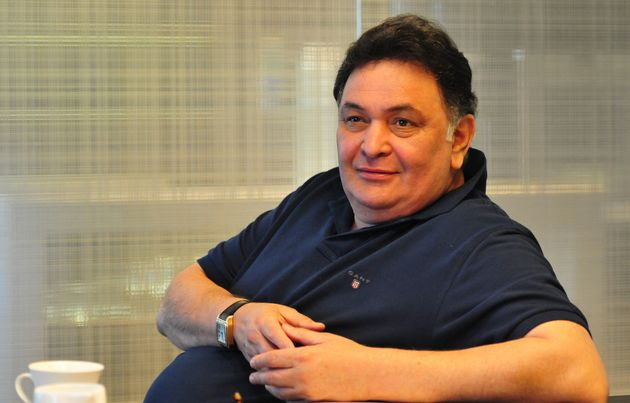 Actor Rishi Kapoor during an interview on March 10, 2014 in