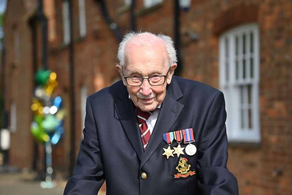 The war veteran has been made an honorary colonel to mark his 100th