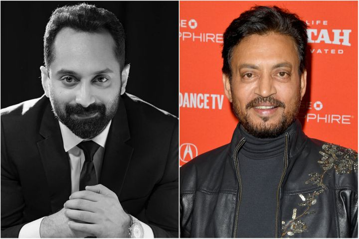 Fahadh Faasil and Irrfan Khan