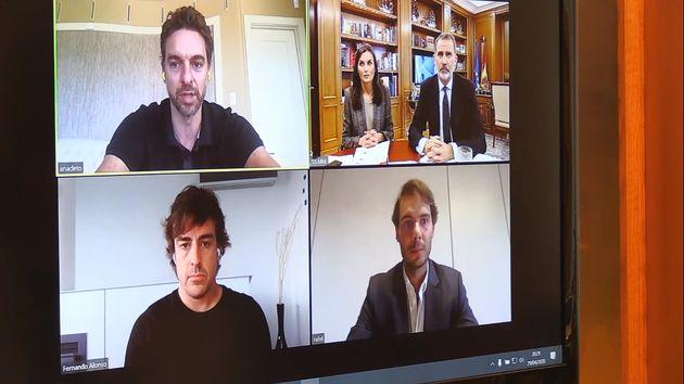 Videoconferencia de la Casa