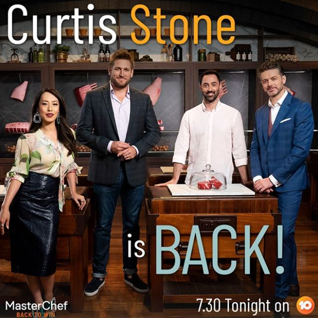 Melissa Leong, Curtis Stone, Andy Allen and Jock Zonfrillo on MasterChef Australia: Back To Win