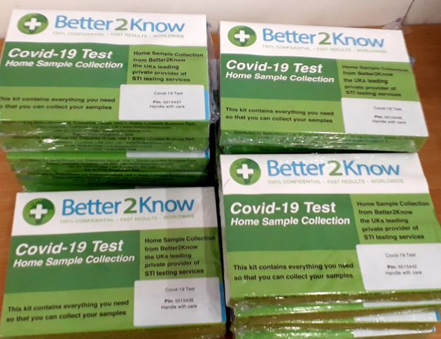 Better2Know has been making Covid-19 test kits since