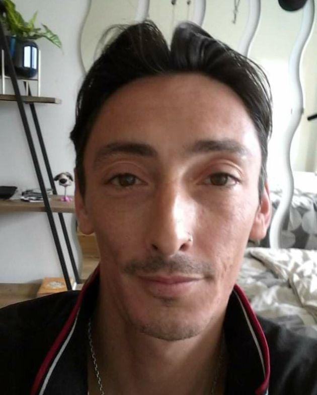 Luca, camarero afectado por un