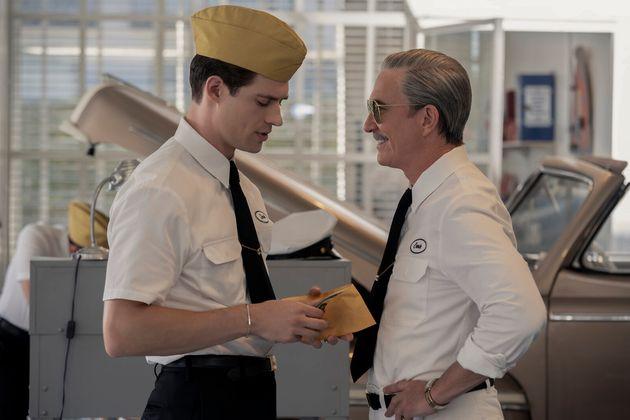 David Corenswet et Dylan McDermott dans la série