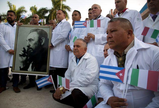 Γιατροί από την Κούβα λίγο...