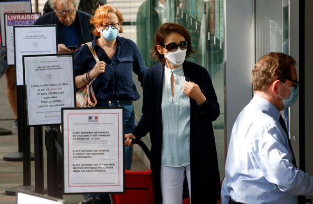 À partir du 11 mai, le port du masque sera conseillé dans les supermarché. Mais...