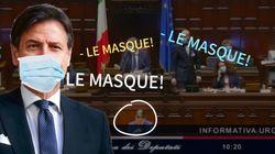 Giuseppe Conte hué au parlement italien pour avoir enlevé son