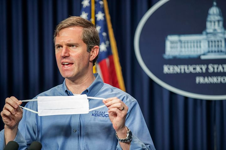 """Kentucky Gov. Andy Beshear warned,""""It will cripple our efforts to rebuild if we don't see a relief package,"""