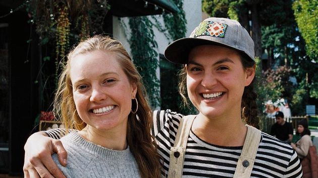 City Beet Farm owners Maddy Clerk, left, and Elana Evans,