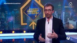Pablo Motos reacciona a las críticas por una foto en la puerta de su casa: