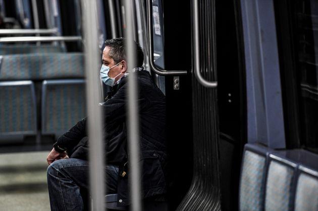 Pas de masque dans les transports? Vers une amende de 135 euros (photo l'illustration du 8 avril