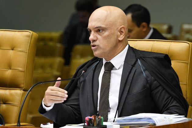 Alexandre de Moraes votou parcialmente procedente a ação em