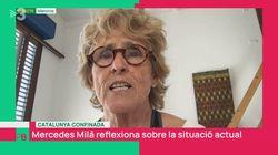 El 'corte' de Mercedes Milá a un presentador de TV3 al hablar de Cataluña y España: