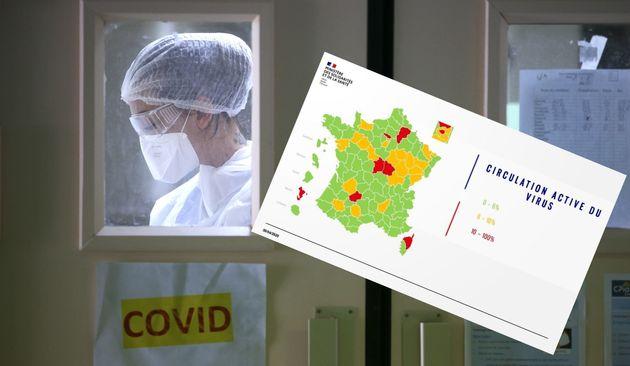 Des erreurs ont pu apparaître dans les données transmises pour établir la couleur de la Haute-Corse,...