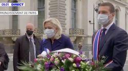 L'hommage masqué de Marine Le Pen à Jeanne d'Arc place des