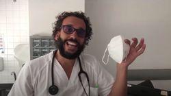 Sanidad ordena retirar las mascarillas donadas por 'Spiriman' a varios hospitales por ser