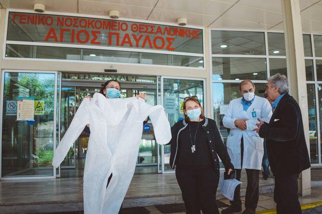 Παραδόθηκαν στα νοσοκομεία «Γ. Γεννηματάς – Ο Άγιος Δημήτριος» και «Άγιος Παύλος», ως ελάχιστη ένδειξη...
