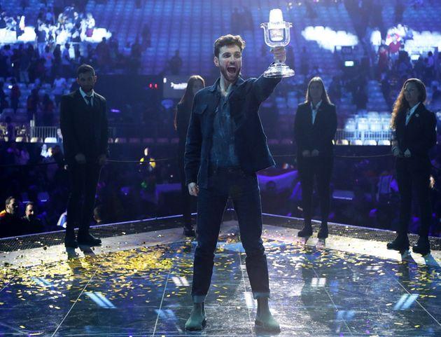 Reigning Eurovision champion Duncan