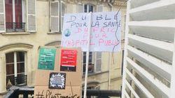 Ces Français ont manifesté à leur balcon ou dans leur jardin pour le 1er
