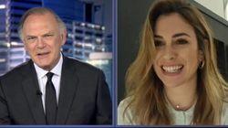 La llamativa despedida de Pedro Piqueras y Blanca Suárez en 'Informativos Telecinco': fíjate en el