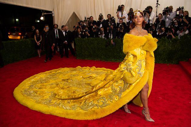 Met Gala: A Definitive Ranking Of Rihanna's Red Carpet