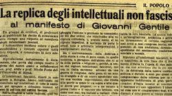 Novantacinque anni fa il Manifesto degli intellettuali