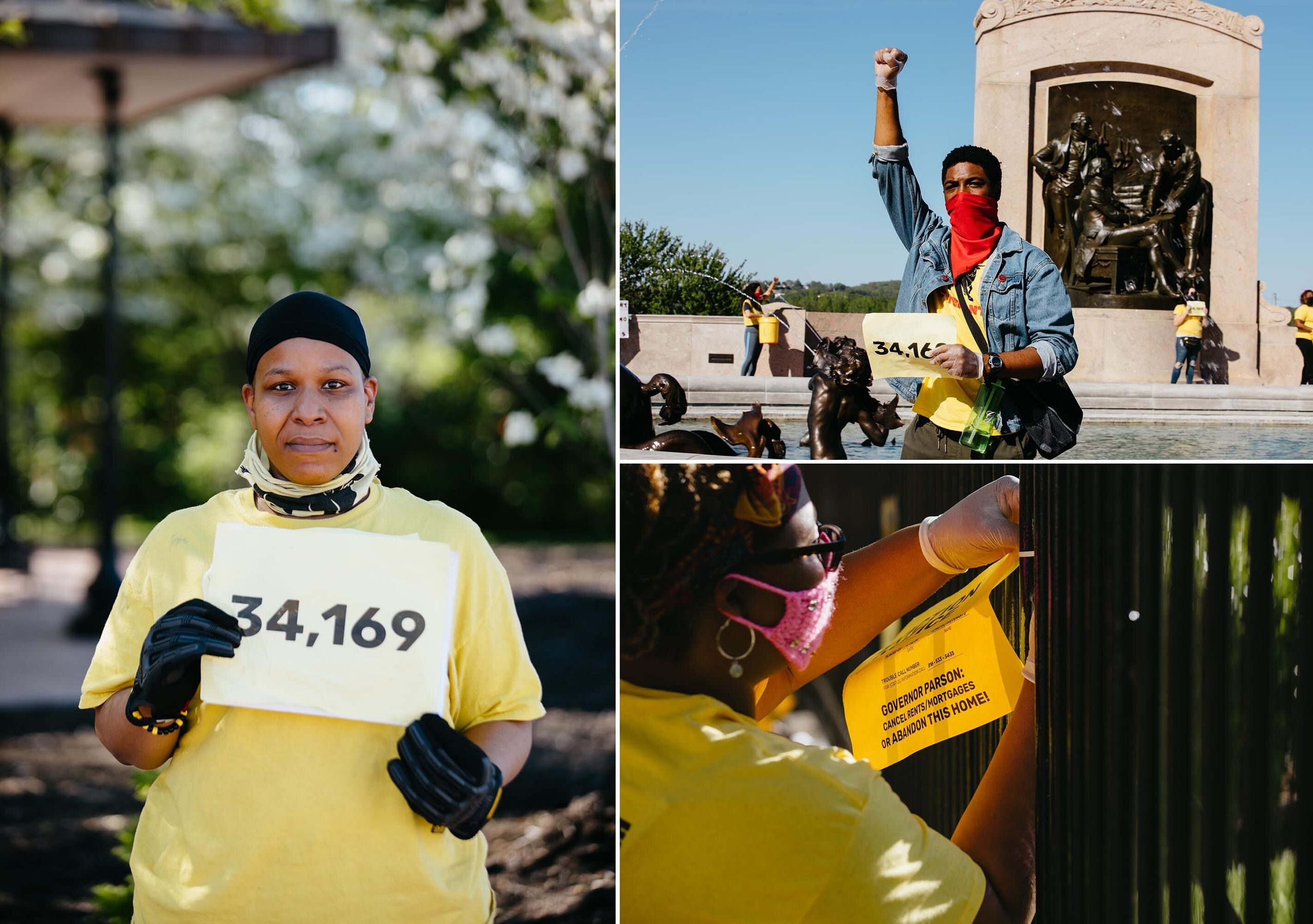 Tiana Caldwell is a tenant from Kansas City, Missouri. She is a two-time cancer survivor and an instructor at a community col
