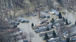 Inondation à Sainte-Marthe-sur-le-Lac: d'inquiétants
