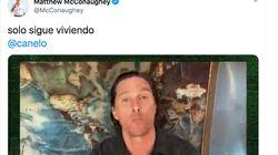 El actor Matthew McConaughey te pide este favor en plena pandemia (y lo hace en