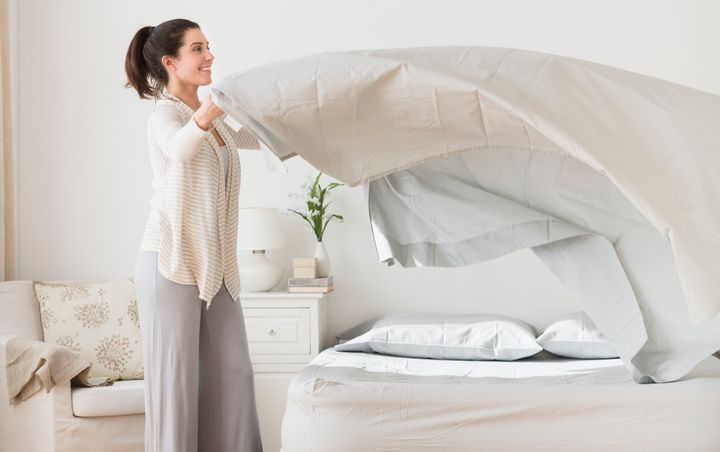 As a general guideline, before the coronavirus pandemic, it was a good idea to wash bed sheets once a week. Experts suggest doubling that frequency now.