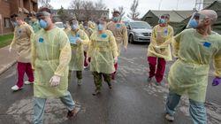 Des militaires sont fiers d'aller aider dans un CHSLD de Ville