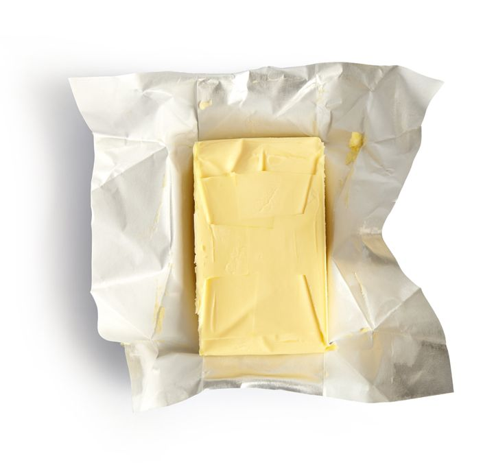 Keep your butter wrapped in its original packaging.