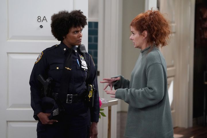 """Tabitha Brown appeared in an episode of the final season of """"Will and Grace"""" as a police officer."""