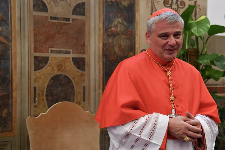 Cardinal Konrad Krajewski is responsible for carrying out charity in Pope Francis's name.