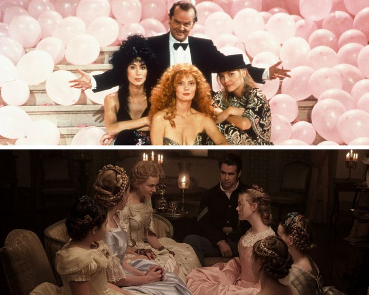 """""""The Witches of Eastwick"""" and """"The Beguiled."""""""