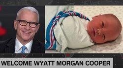 「ゲイの自分が、父親になれると思わなかった」CNNアンカーのアンダーソン・クーパー氏、子供が生まれたことを番組で報告