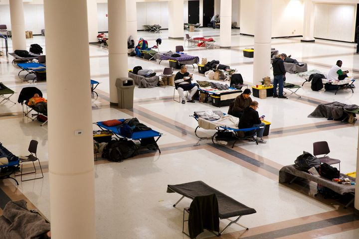 Seattle has already converted an event space into a temporary men's shelter for the homeless during the coronavirus pandemic.