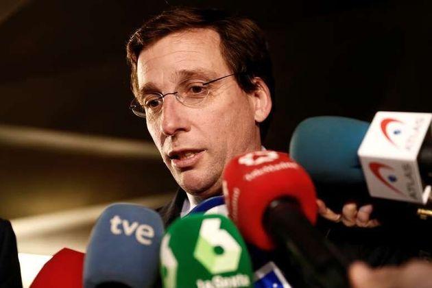 El alcalde de Madrid, Jose Luis