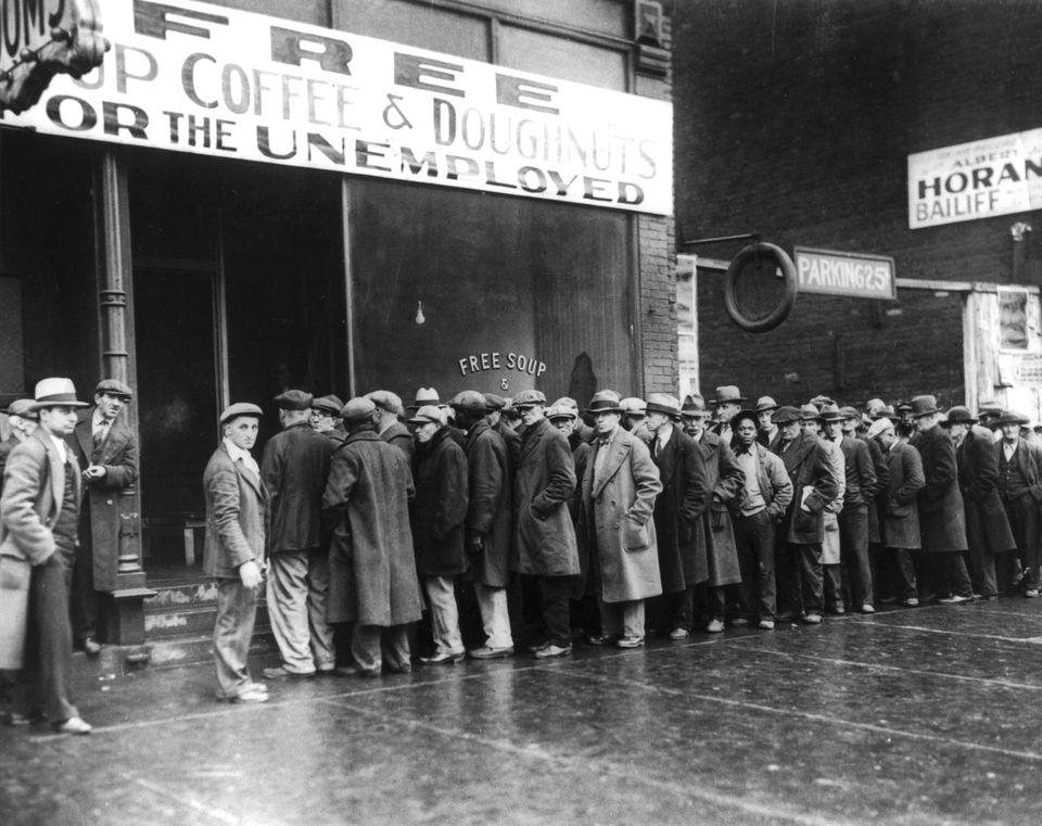 Chicago 1929 -30. Συσσίτια κάποια...