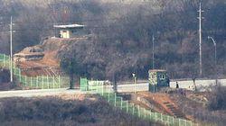 북한군이 중부전선 비무장지대에서 총탄을