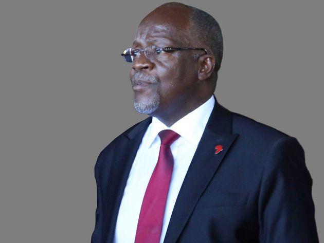 Ο πρόεδρος της Τανζανίας,Τζον