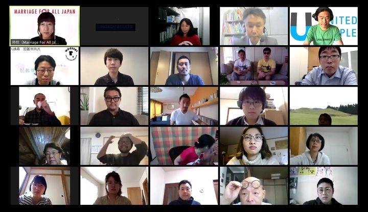 イベントの参加者たち