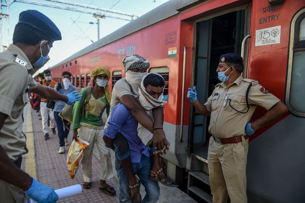 Railway Guidelines Say Trains For Migrant Workers Will Run Only If ...